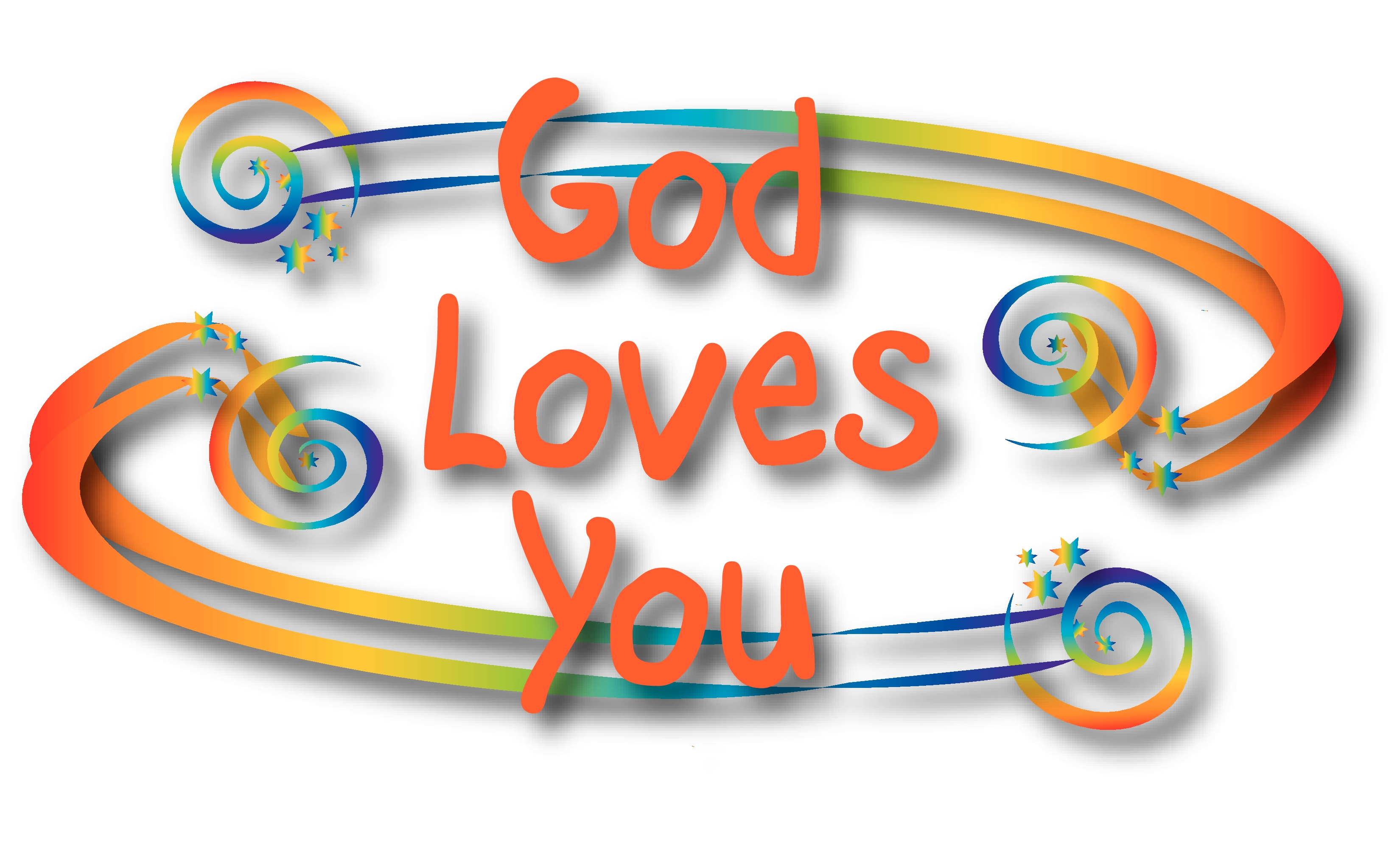clipart god loves you - photo #3