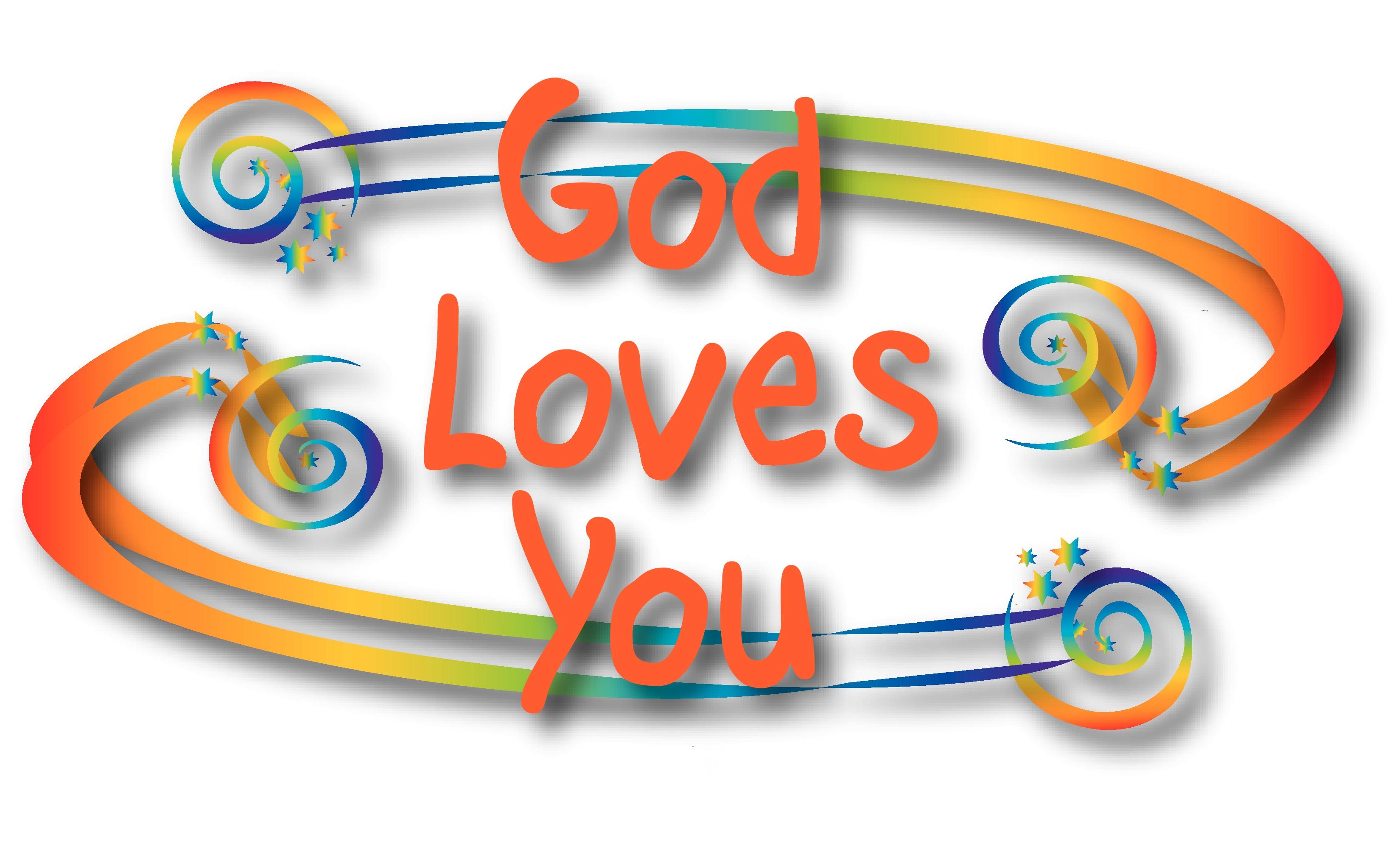 clipart god loves you-#3